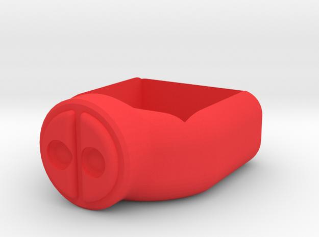 Deadpool Chalk Holder in Red Processed Versatile Plastic