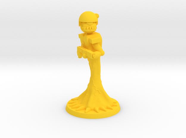 Krumpfs Trooper 2 in Yellow Processed Versatile Plastic