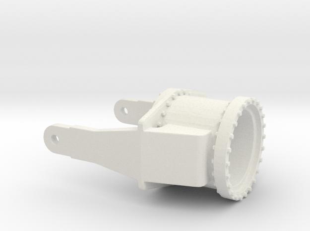 Hinge part2 1:100 in White Natural Versatile Plastic