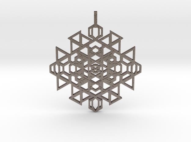 Seal Of Clairsentience (Flat) in Stainless Steel