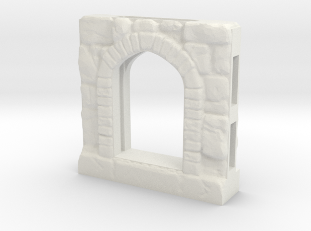 TRP-A-Heavy-Arch-v3.0 in White Natural Versatile Plastic