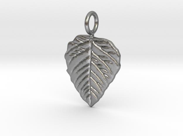 Metal Leaf in Natural Silver