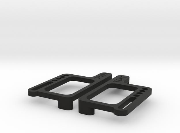 B6 LCG battery plates in Black Natural Versatile Plastic