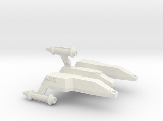 3788 Scale Lyran Jaguar War Cruiser (CW) CVN in White Natural Versatile Plastic