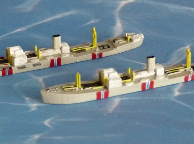 "German Auxiliary Cruiser HSK ""Atlantis"" 1/1800 3d printed 1/2400 Model"