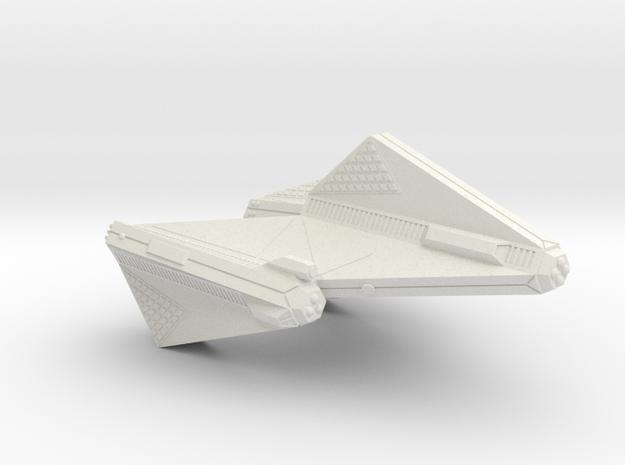 3125 Scale Tholian DPW Dreadnought SRZ in White Strong & Flexible