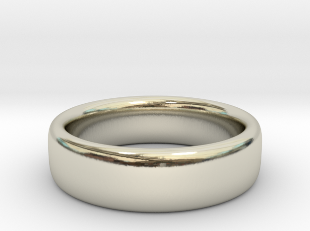 Ring, Band, 2mmx6mm, Size 7 in 14k White Gold