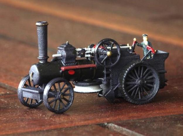 1000-1 Fowler Plough Engine Wheels 1:87 3d printed Finished Engine