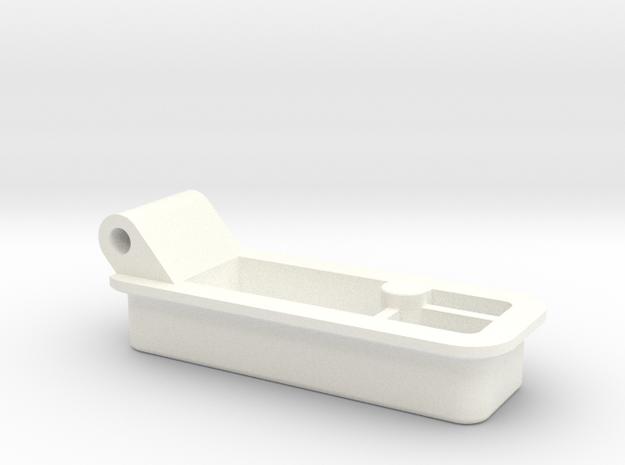 BoneClone CD32 - Sholder Button in White Processed Versatile Plastic