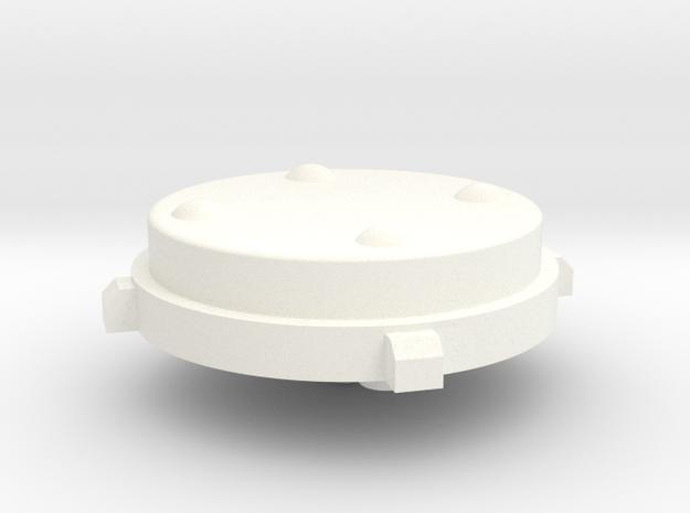 BoneClone CD32 - DPad in White Processed Versatile Plastic
