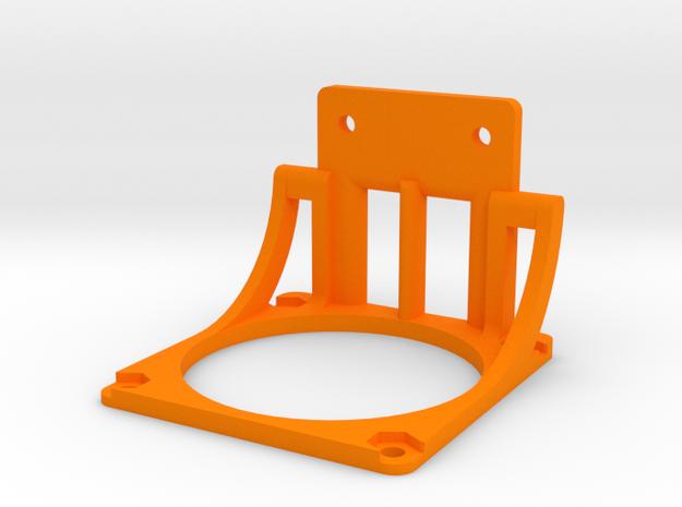 Energiekettenhalter - Deckel - Ndo Design in Orange Processed Versatile Plastic