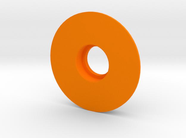 Kossel XL Lager Filamentspule - Ndo Design in Orange Processed Versatile Plastic