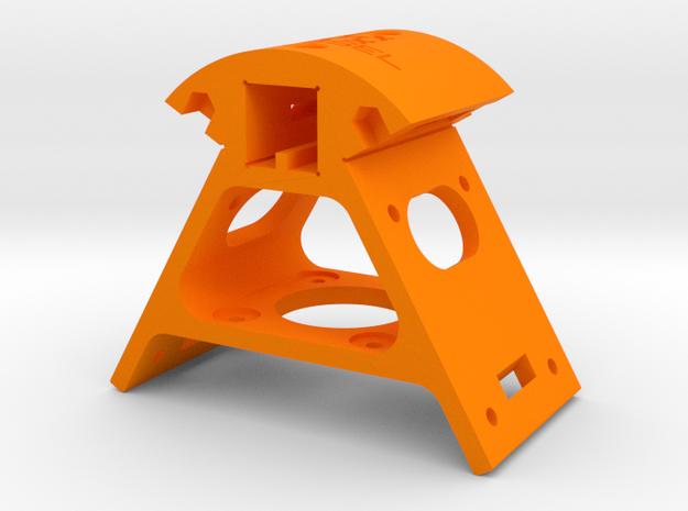 Kossel XL Ecke unten 45mm - Ndo Design in Orange Processed Versatile Plastic