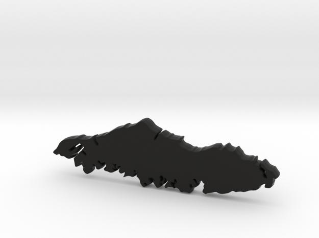 True Ravens Island for Henry Morgan in Black Natural Versatile Plastic