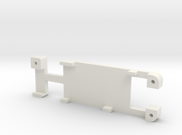 DNA 75:200:250 screen holder in White Natural Versatile Plastic
