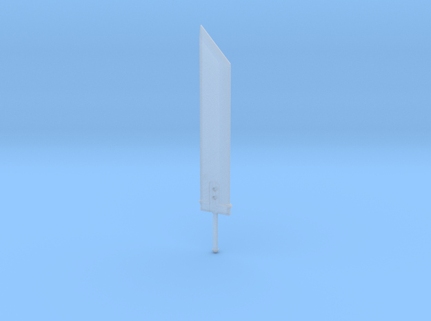 3.7cm Buster CLoud in Smooth Fine Detail Plastic