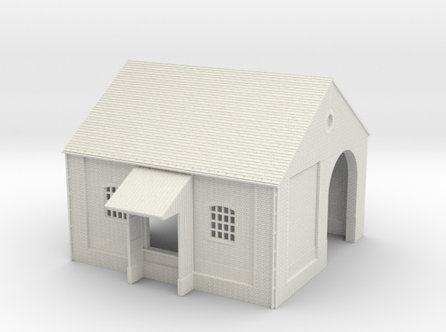 z-87-goods-shed-1 in White Natural Versatile Plastic