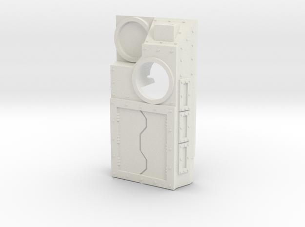 Supressor topper (blank) in White Natural Versatile Plastic