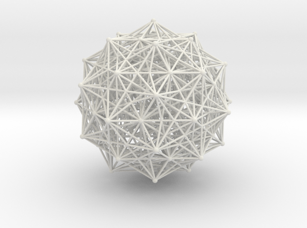 600-cell dot2 in White Natural Versatile Plastic