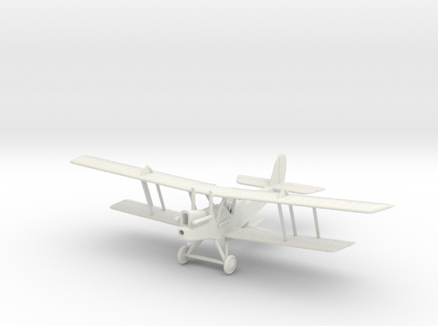 1/144 or 1/100 RAF RE 8 in White Natural Versatile Plastic: 1:144