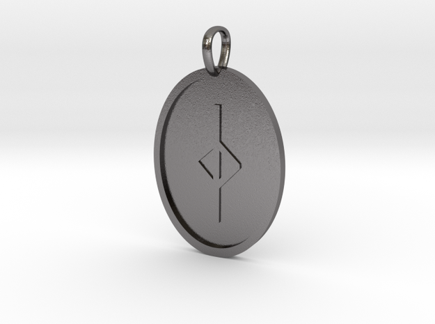 Jear Rune (Anglo Saxon) in Polished Nickel Steel