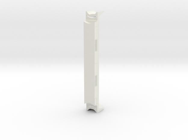 Chassis Eurostar BAR HO in White Natural Versatile Plastic