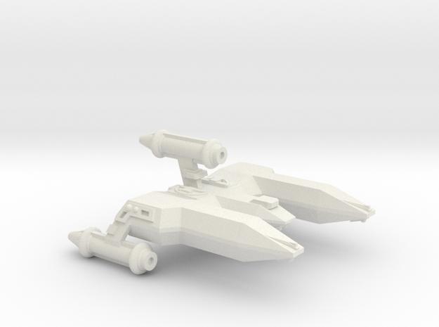 3125 Scale LDR War Destroyer (DW) CVN in White Natural Versatile Plastic