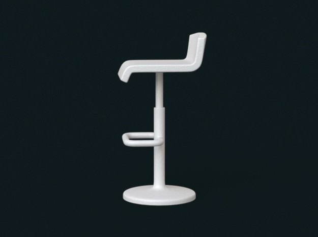 1:10 Scale Model - BarChair 01 3d printed