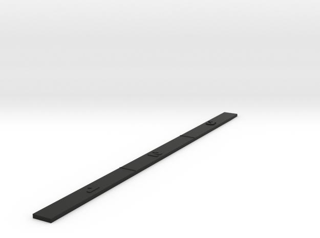 Customizable Range Ruler - Space 1 / 2 / 3  in Black Natural Versatile Plastic
