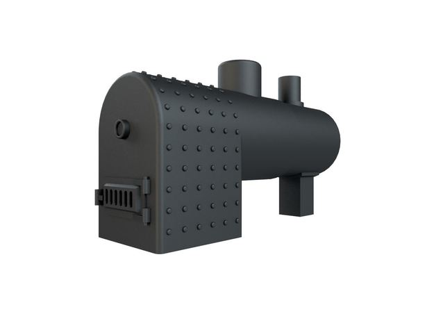 Horizontal boiler (stationary) HO Scale