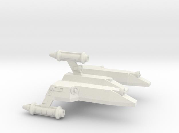 3125 Scale LDR War Cruiser Scout (CWS) CVN in White Strong & Flexible