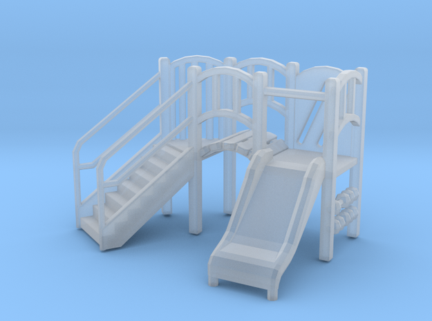 Playground Equipment 01. 1:76 Scale  in Frosted Ultra Detail