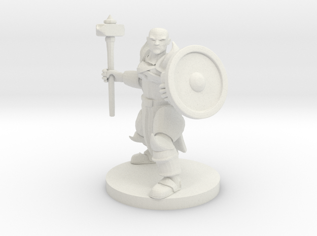 Mountain Paladin in White Strong & Flexible