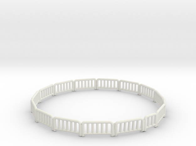 king mfg train fence in White Strong & Flexible