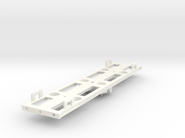 00 GWR Dia M17 Bullion Van Part 3 (Underframe) in White Processed Versatile Plastic