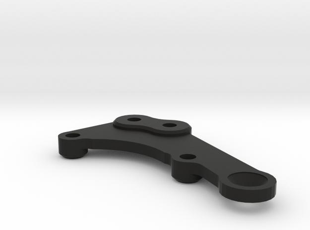 F6 Fan Mount in Black Natural Versatile Plastic
