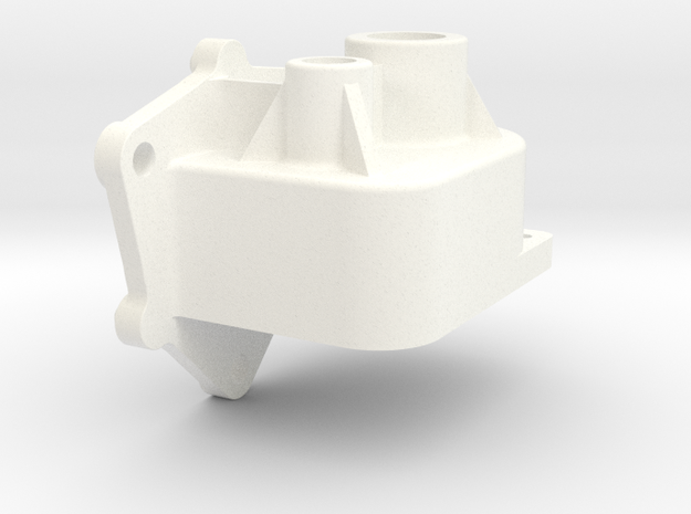 "Fan Gearbox - ""Super"" floor stand fan in White Processed Versatile Plastic"