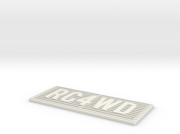 RC4WD D90/D110 Grill in White Strong & Flexible