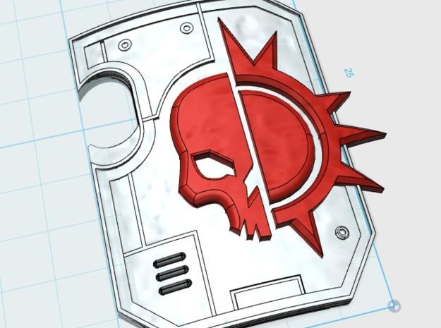 5x Dusk Raider: Terminator Thunder Shields in Frosted Ultra Detail