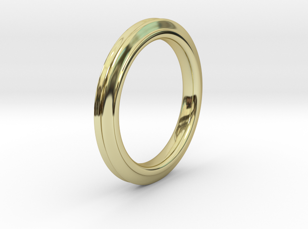 Trinity in 18k Gold Plated Brass: Small