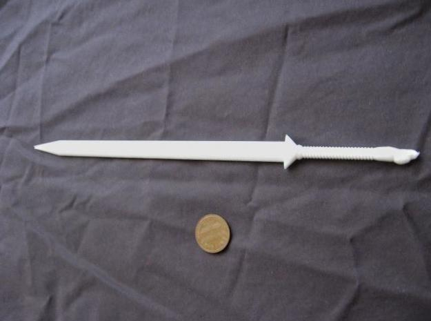 Eagle Broadsword 3d printed an unpainted example of this sword