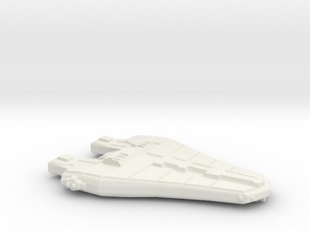 3788 Scale Vulpa Blockade Runner MGL in White Natural Versatile Plastic
