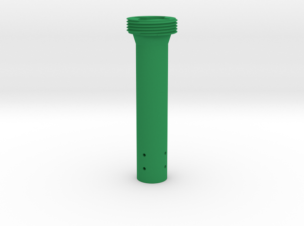 Force Feedback 2 to Thrustmaster adapter - 120mm in Green Processed Versatile Plastic