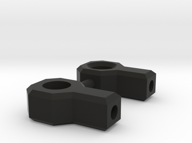 Battery Cable mounts for 1:10 Scale Battery in Black Natural Versatile Plastic