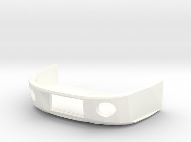 Flirt Schürze ohne Schienenräumer Scale TT in White Processed Versatile Plastic