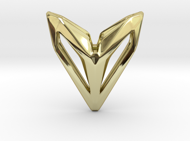HEAD TO HEAD Phantom, Pendant in 18K Gold Plated