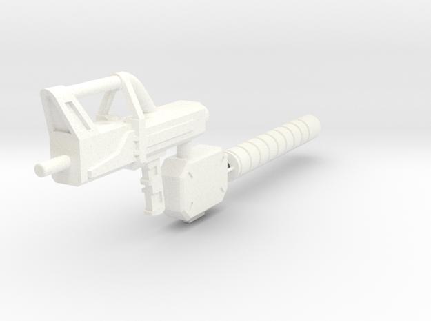 PROTOTYPE SpacegunonRunner in White Processed Versatile Plastic