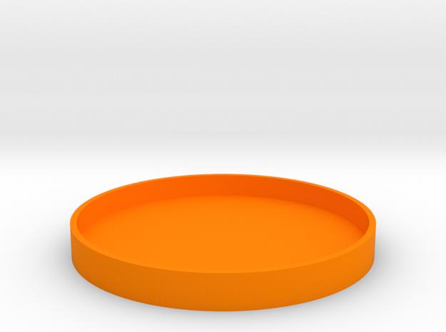 Okito Box Lid - USA Dollar in Orange Processed Versatile Plastic