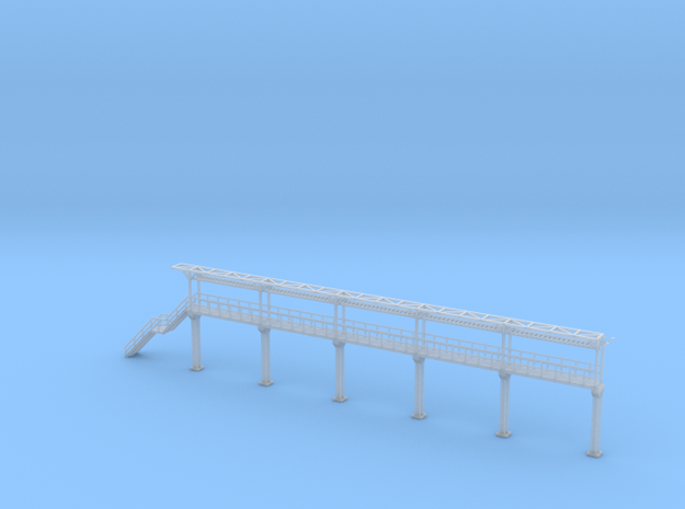 N Scale Tank Car loading Platform 5+stairs in Smooth Fine Detail Plastic