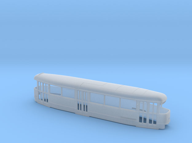 Tatra T1 Pantograph H0 [body] in Smooth Fine Detail Plastic
